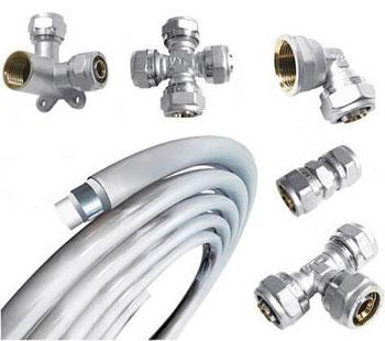 Металлопластиковые трубы/фитинги