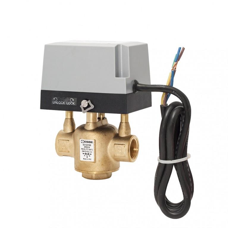 Перемикаючий клапан 3-ход. Esbe тип ZRS234 DN25 G1