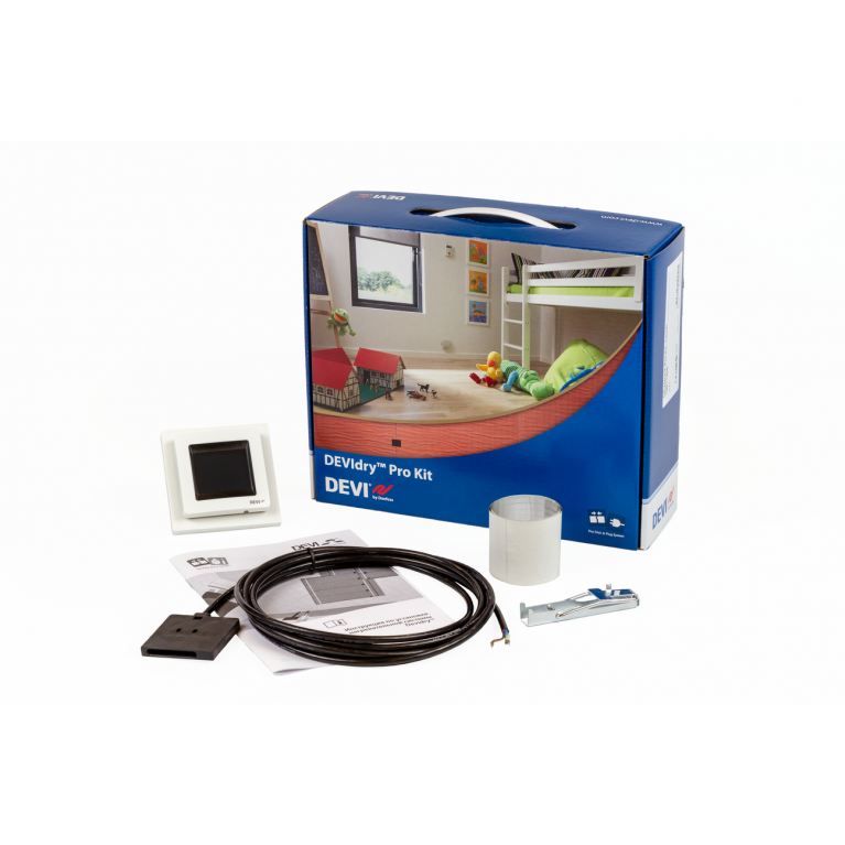 Набор DEVIdry Pro Kit с терморегулятором DEVIreg Touch
