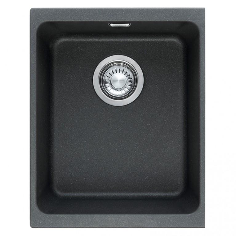 Кухонная мойка Franke KBG 110-34 гранит оникс
