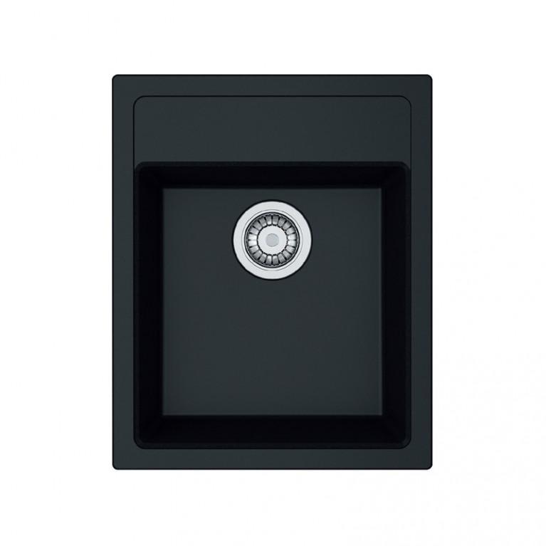 Кухонная мойка Franke SID 610-40 Черная матовая