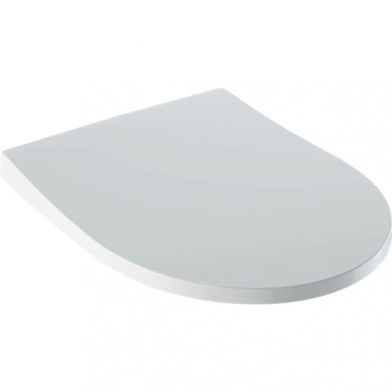Сиденье для унитаза Geberit iCon Slim антибактериальное c быстроразъемными петлями soft-close