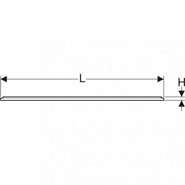 Инсталляционная рама Geberit для поверхности душевой зоны, душевого поддона Setaplano 120x80 см 154.464.00.1, фото 2