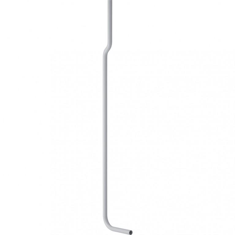 Колено смыва Geberit 90, в комплекте, 156x24 см, с отступом, фото 1