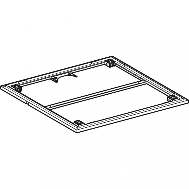 Инсталляция для поверхности душевой зоны Geberit для душевого поддона Setaplano 90x90 см 154.470.00.1, фото 4