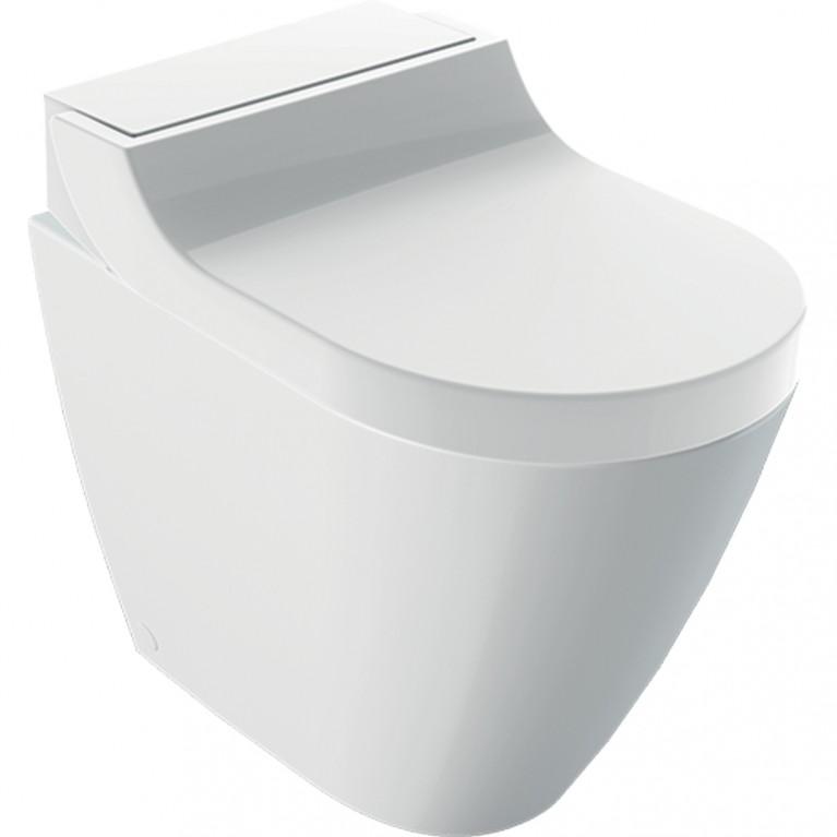 Напольный унитаз-биде Geberit AquaClean Tuma Comfort альпийский белый