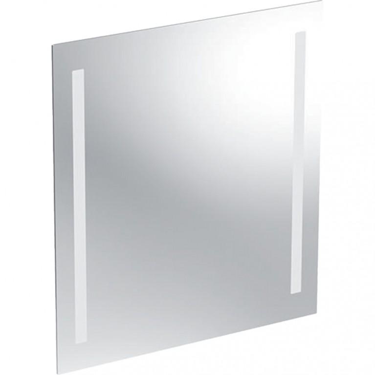 Зеркало с подсветкой Geberit Option Basic, двухсторонняя подсветка, 60x65 см