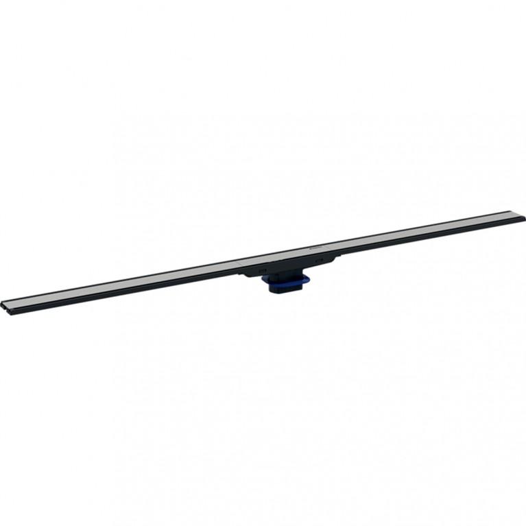 Дренажный канал Geberit CleanLine60 для душевой зоны, черная нержавеющая сталь, L30-90см