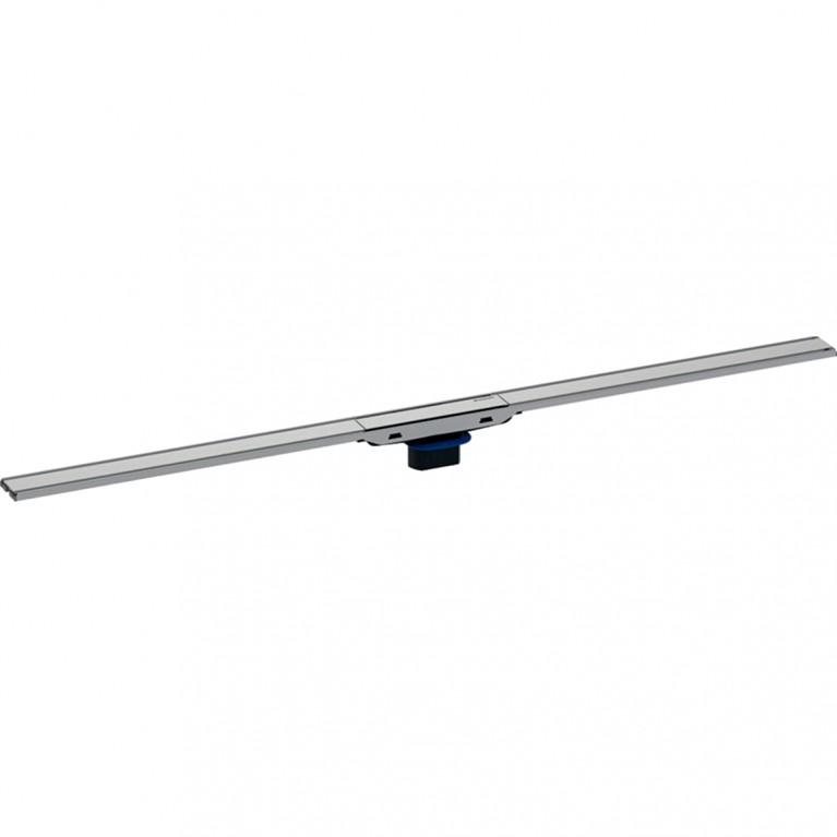 Душевой дренажный канал Geberit CleanLine60 для тонких полов, полированная нержавеющая сталь, длина 30-90 см