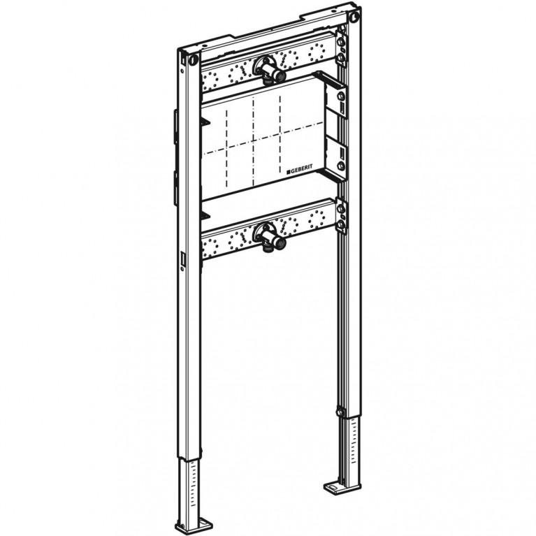 Монтажный элемент Geberit Duofix для душа и ванны, 98–112 см, встраиваемый в стену смеситель 111.780.00.1, фото 4