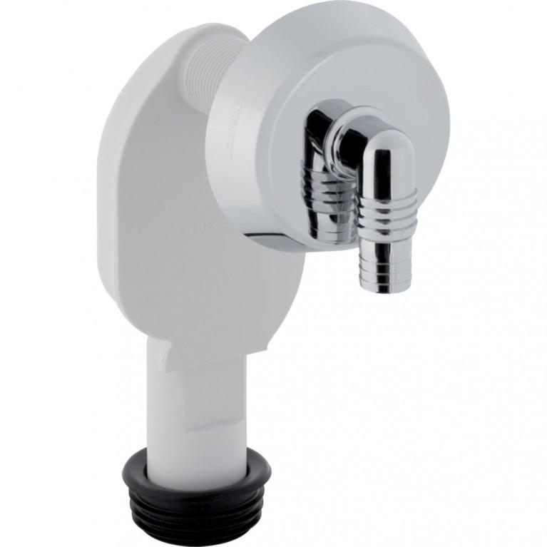 Сифон скрытого монтажа Geberit для стиральных и посудомоечных машин, хром глянцевый