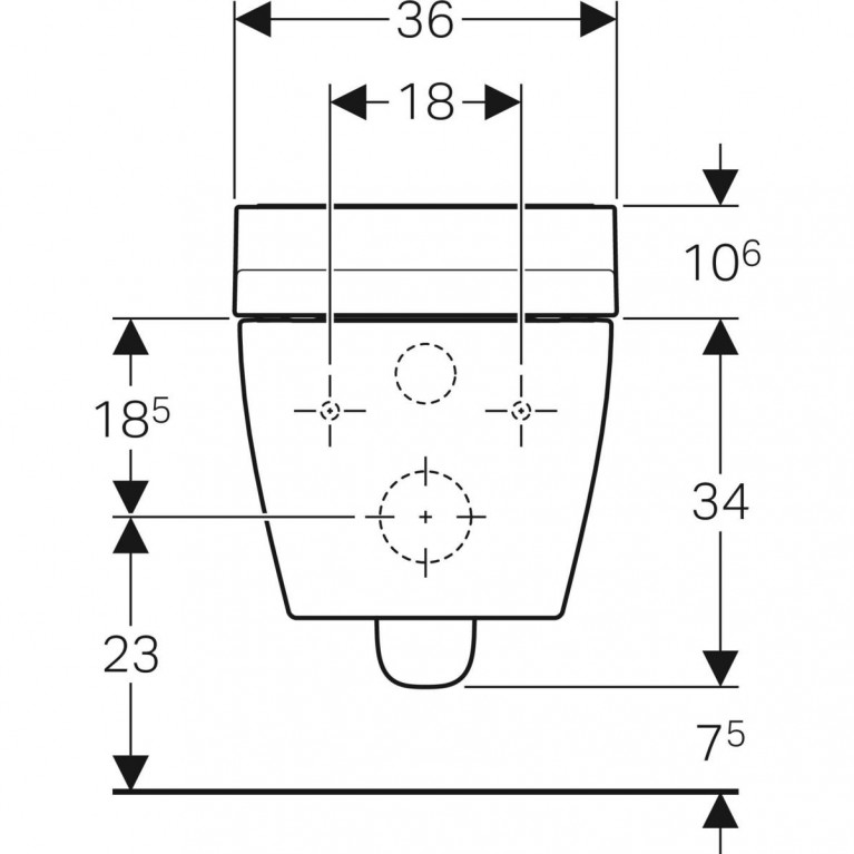 Подвесной унитаз-биде Geberit AquaClean Tuma Comfort белое стекло 146.294.SI.1, фото 6