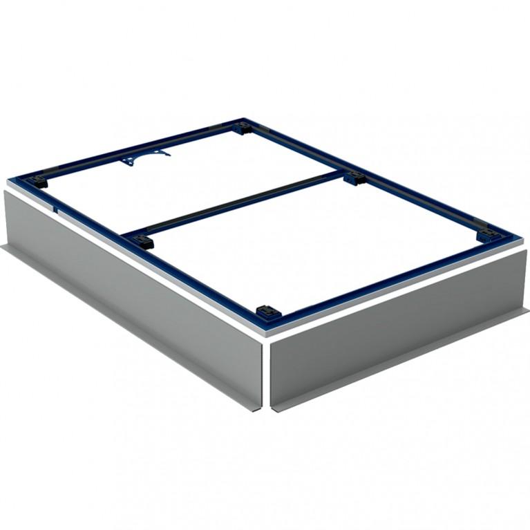 Инсталляционная рама Geberit для душевого поддона Setaplano, свыше 100 см, с шестью ножками, 140x80 см