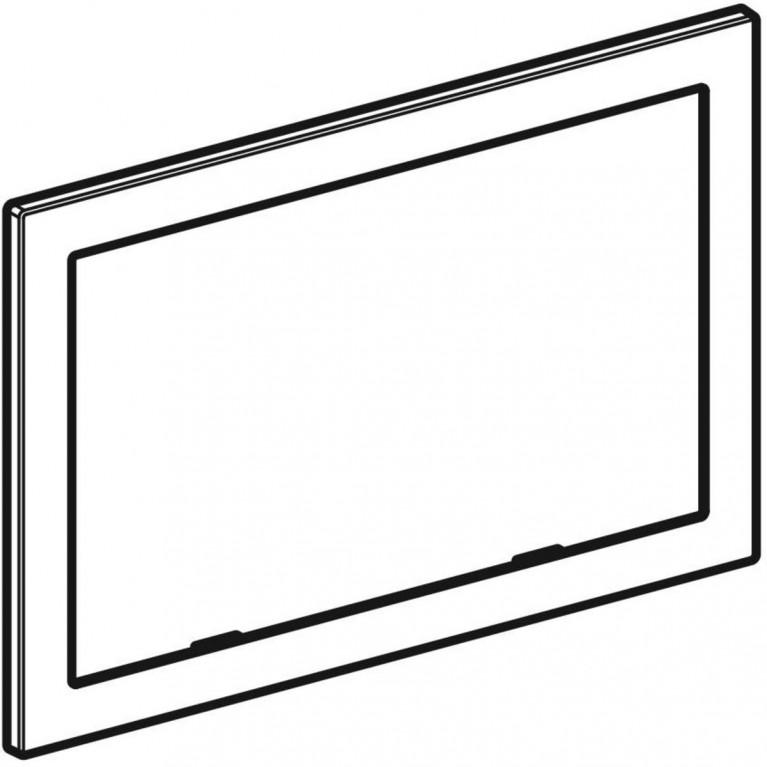 Облицовочная рамка Geberit для смывной клавиши Omega 60, хром глянцевый 115.086.21.1, фото 4