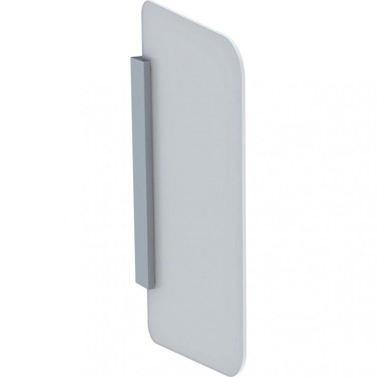 Разделительная перегородка Geberit для писсуара, белое стекло