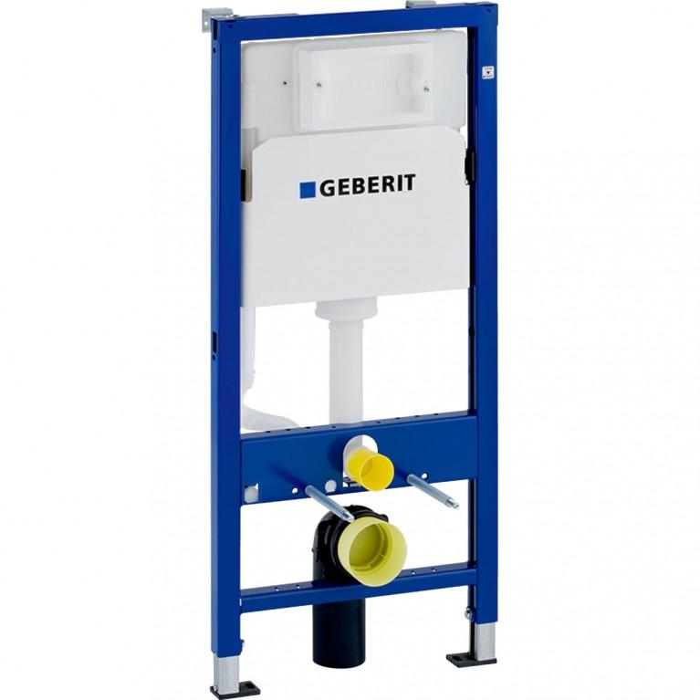 Инсталляция для унитаза Geberit DuofixBasic монтажный элемент H112 см, бачок Delta 12 см