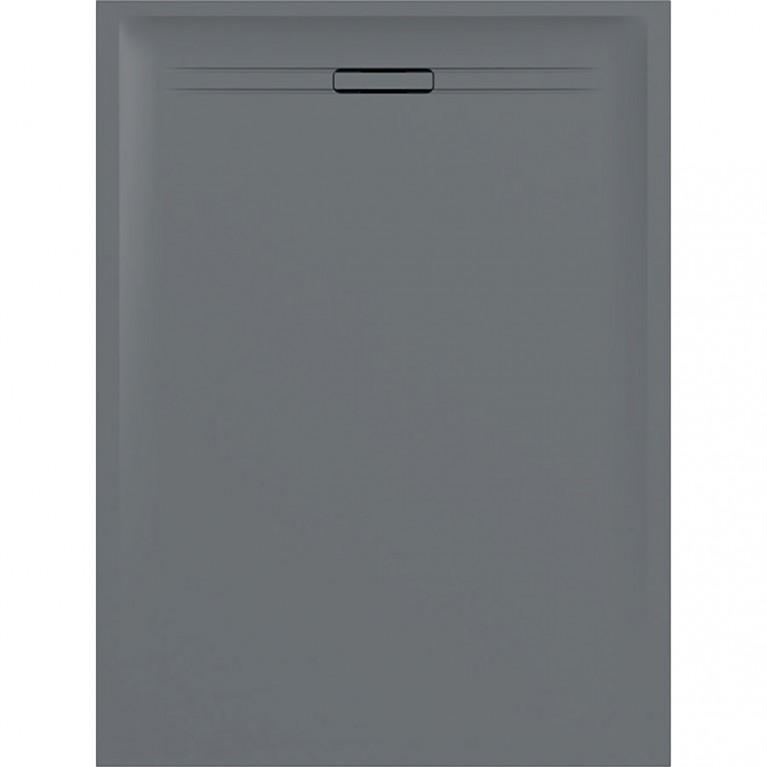 Прямоугольный душевой поддон Geberit Sestra, 120x80 см цвет серый