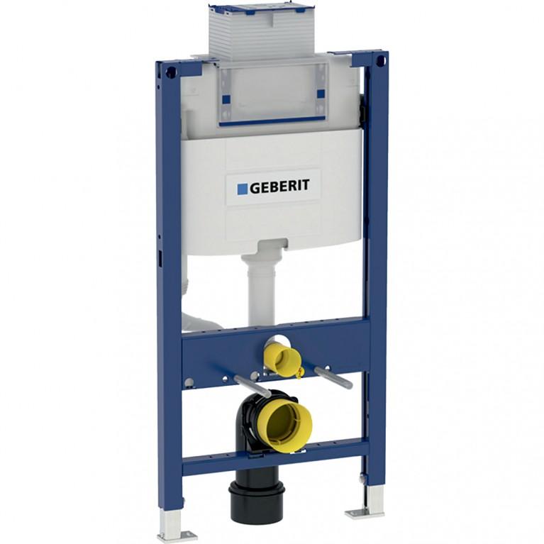Монтажный элемент для подвесного унитаза Geberit Duofix, H 98 см с бачком Omega 12 см