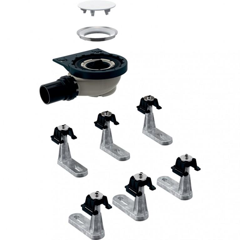 Сифон для душевых поддонов Geberit с шестью ножками, для душевого поддона Setaplano
