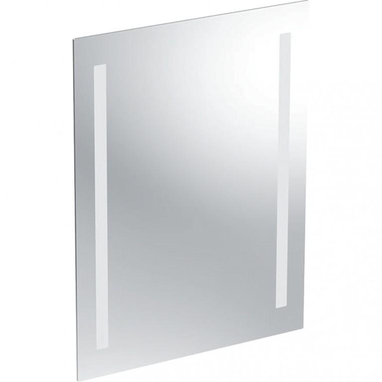 Зеркало с подсветкой Geberit Option Basic, двухсторонняя подсветка, 50x65 см