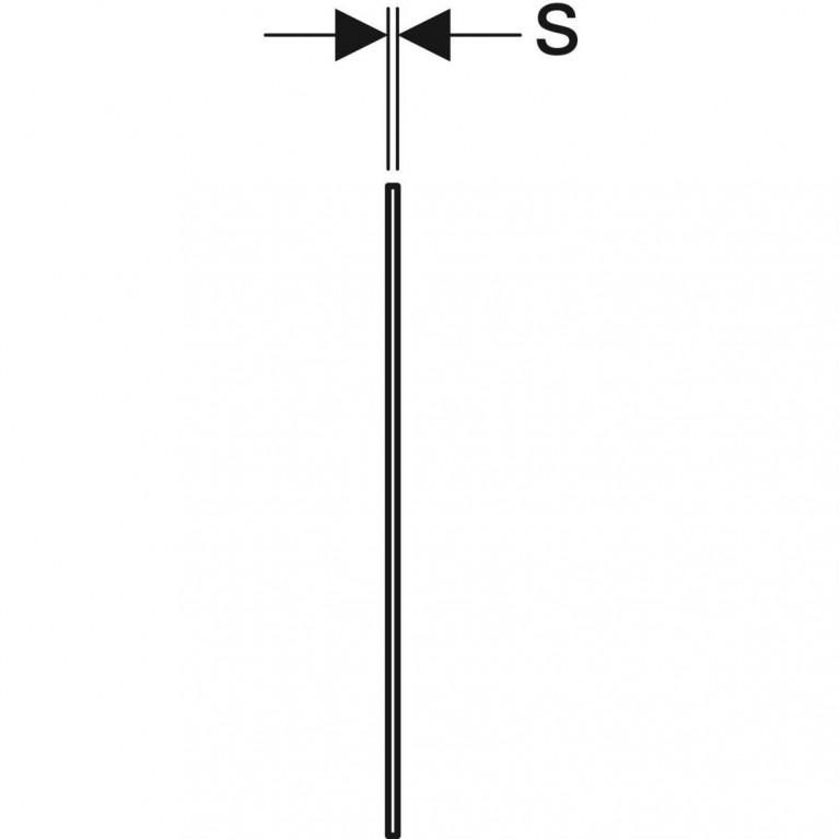 Звукоизолирующий комплект Geberit для подвесного унитаза 156.050.00.1, фото 5
