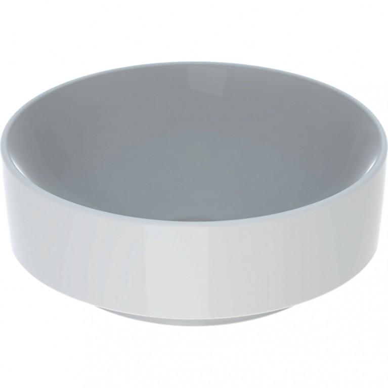 Умывальник на столешницу Geberit VariForm круглый 40 см чаша