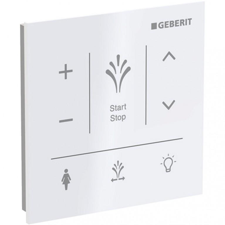 Настенная панель управления для Geberit AquaClean Sela белое стекло