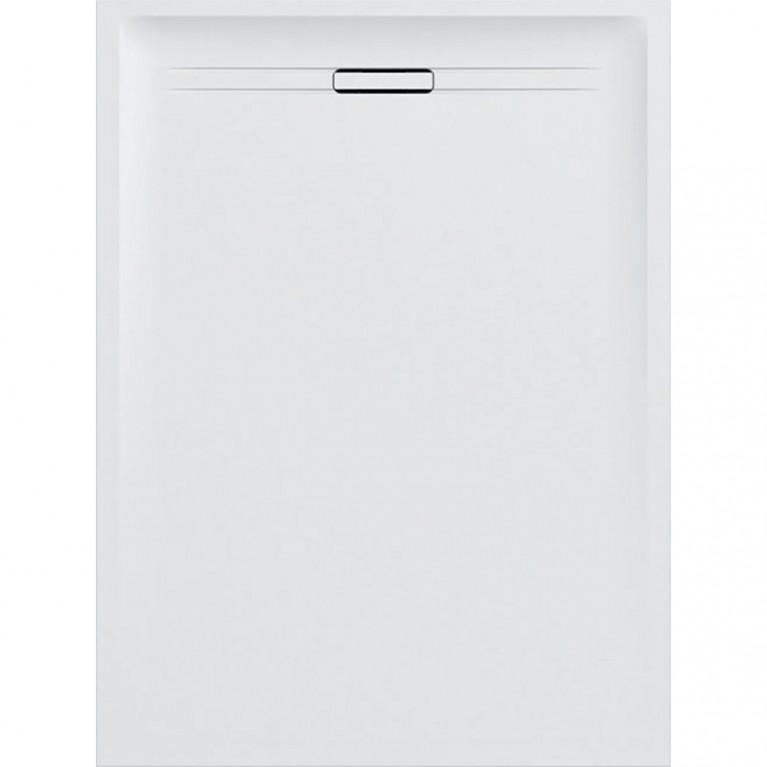 Прямоугольный душевой поддон Geberit Sestra, 100x90 см белый