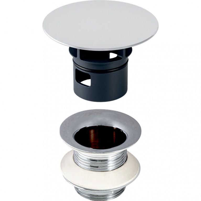 Донный клапан Geberit iCon Square без возможности перекрытия слива 8 см