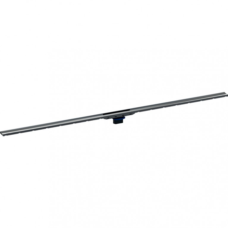 Душевой дренажный канал Geberit CleanLine80 для тонких полов, черный хромированный, длина 30-130 см