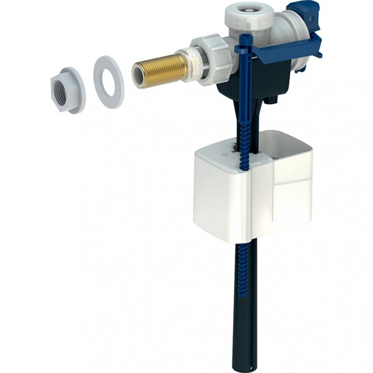 Впускной клапан Geberit iCon Square тип 333, подвод воды сбоку, 3/8 ниппель латунь