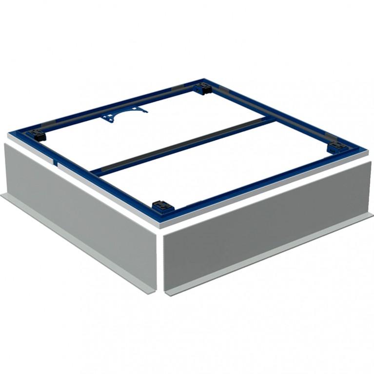 Инсталляционная рама Geberit для поверхности душевой зоны, душевого поддона Setaplano 100x100 см