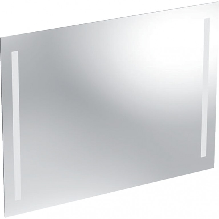 Зеркало с подсветкой Geberit Option Basic, двухсторонняя подсветка, 90x65 см