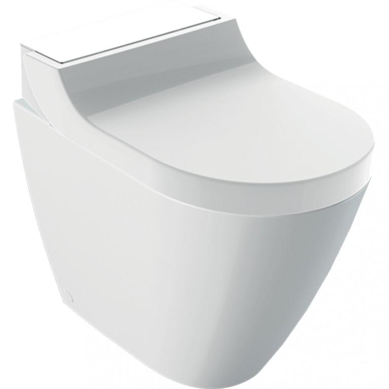 Напольный унитаз-биде Geberit AquaClean Tuma Comfort белое стекло