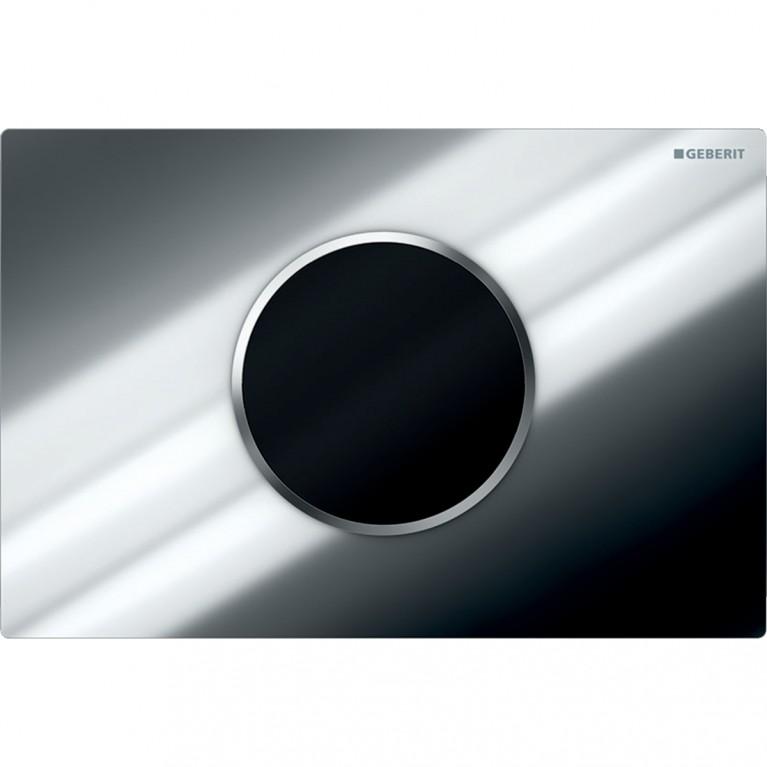 Смывная клавиша бесконтактная Geberit Sigma10, питание от батарей, двойной смыв, автоматический смыв