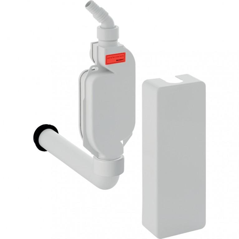 Сифон наружного монтажа Geberit для приборов с облицовкой, d40 мм