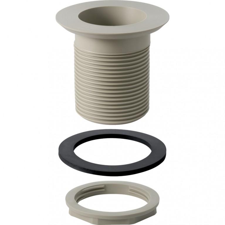 Сливной клапан Geberit с круглой резьбой для раковин из каменной керамики, 60x1/8