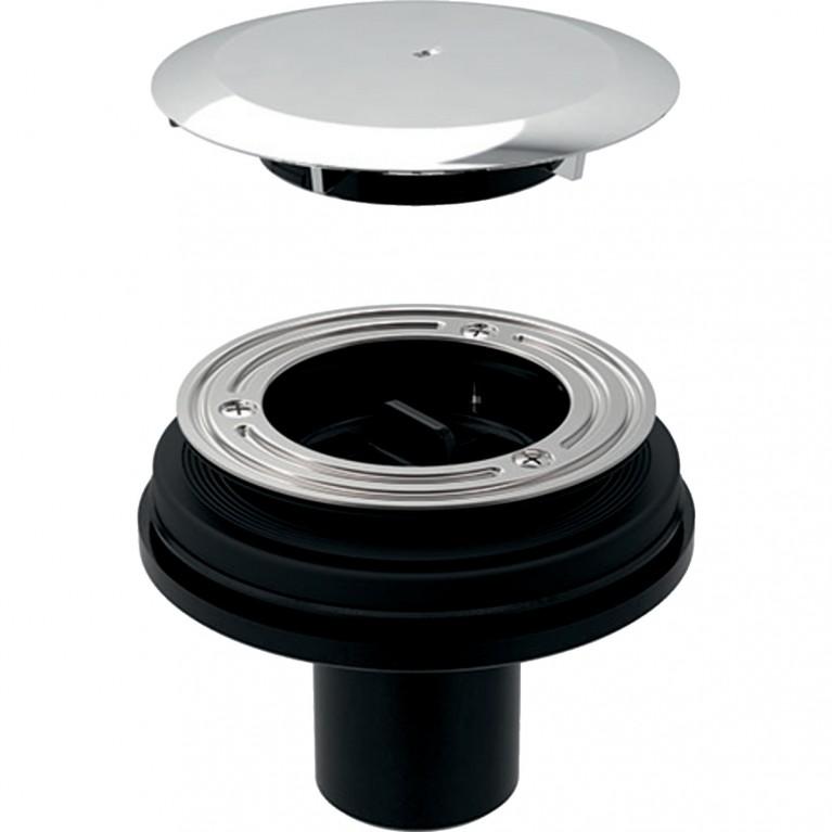 Сифон для душевых поддонов Geberit для межэтажной установки, без сифона, с пробкой сливного отверстия d90