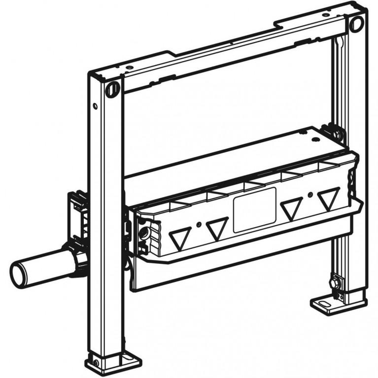 Монтажный элемент Geberit Duofix для душевых систем, высота стяжки 65–90 мм, выпуск DN 40 111.593.00.1, фото 2