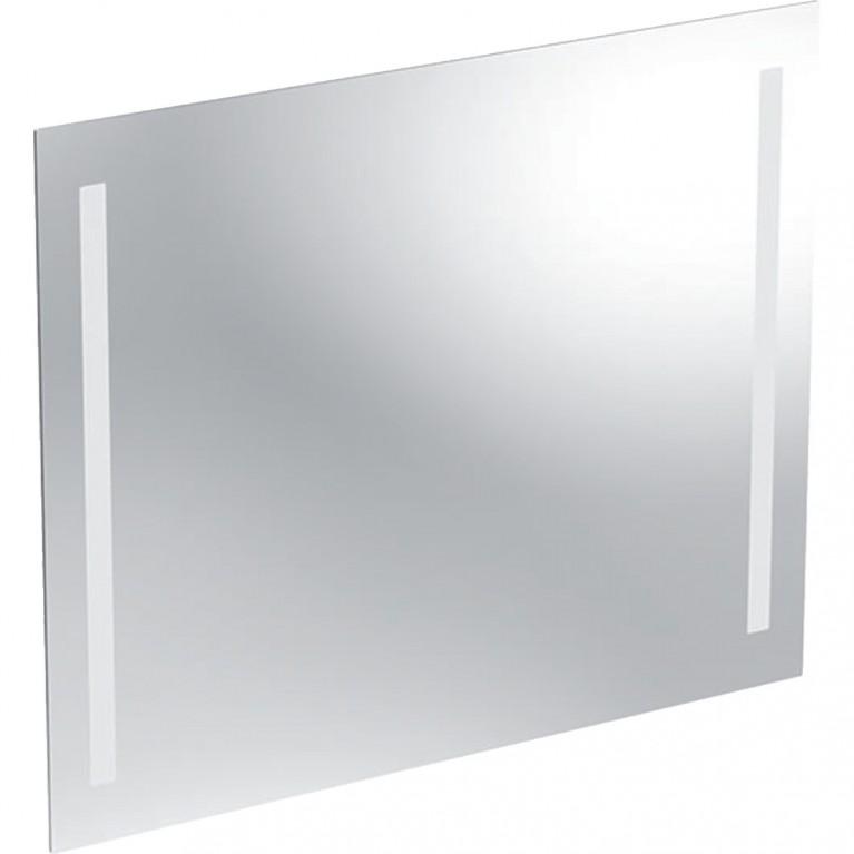 Зеркало с подсветкой Geberit Option Basic, двухсторонняя подсветка, 80x65 см