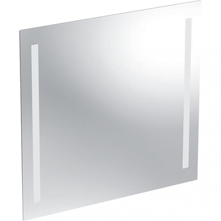 Зеркало с подсветкой Geberit Option Basic, двухсторонняя подсветка, 70x65 см