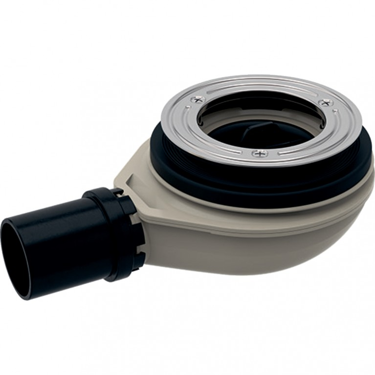 Сифон для душевого поддона Geberit d90, высота гидрозатвора 30 мм, выпуск из ПНД