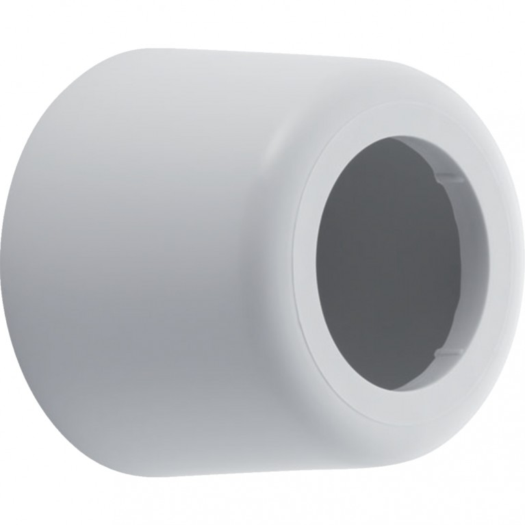 Юбка для выпуска сифона Geberit, глубокая, d 50 мм - 85 мм, цвет белый