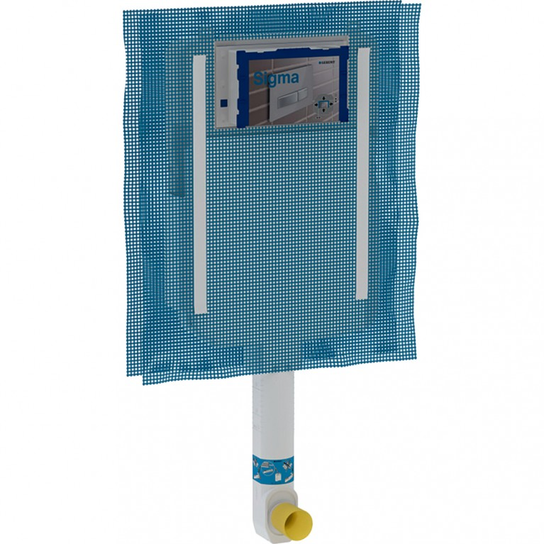 Бачок скрытого монтажа Geberit Sigma 8 см для напольного унитаза