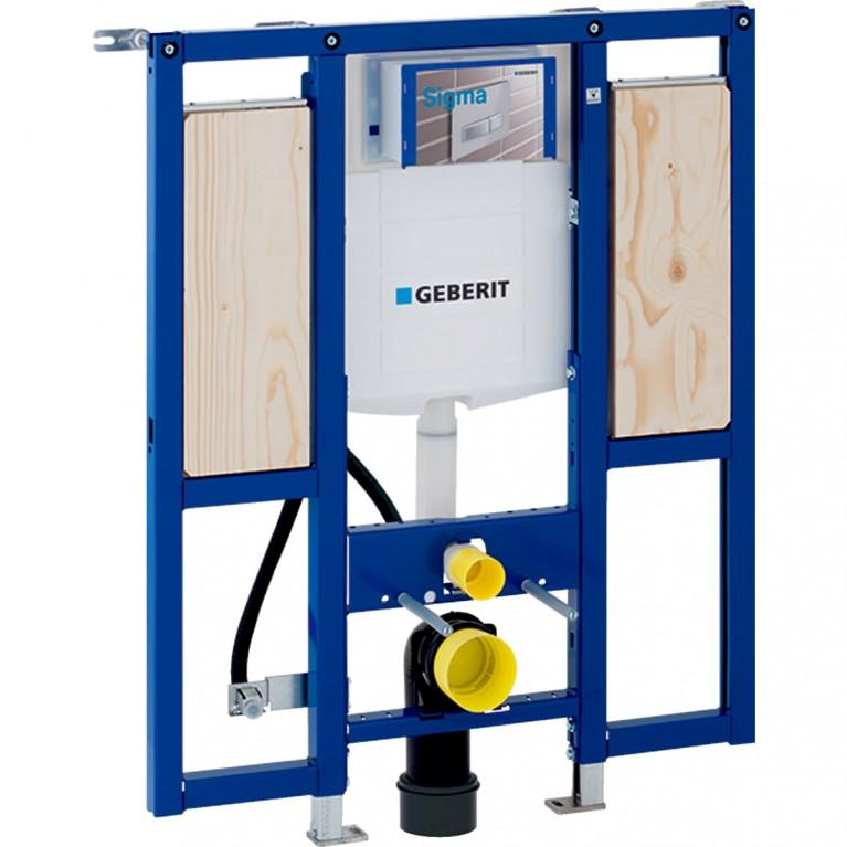Монтажный элемент Geberit Duofix для подвесного унитаза H 112 см, для людей с ограниченными возможностями для поручней и опор