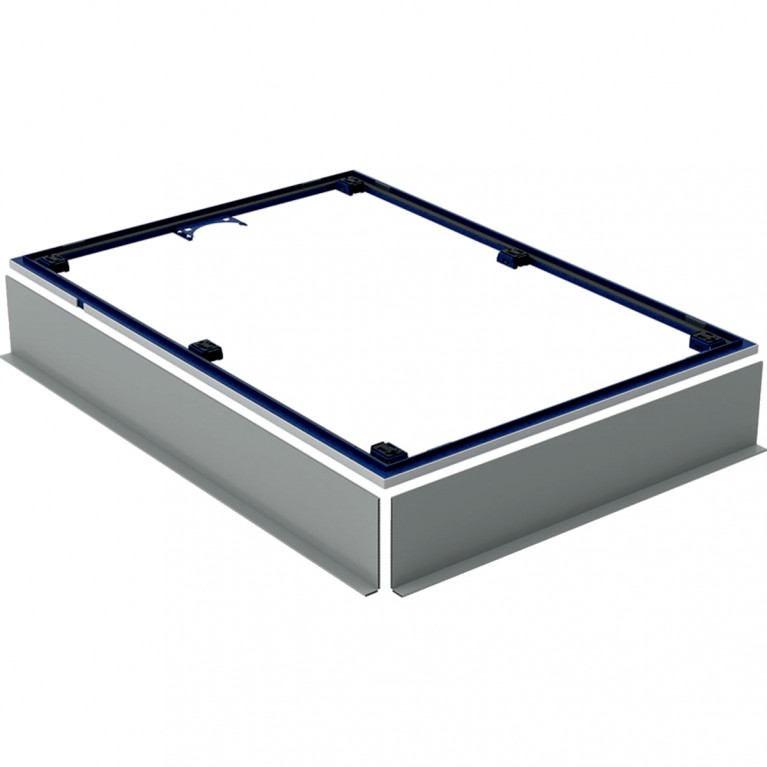Инсталляционная рама Geberit для душевого поддона Setaplano, свыше 100 см, с шестью ножками, 150x80 см