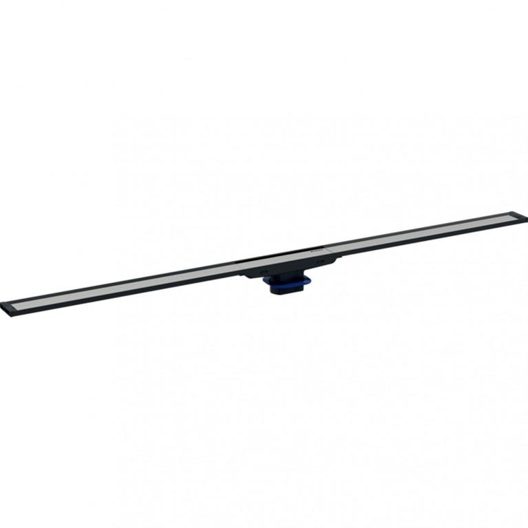 Дренажный канал Geberit CleanLine20 черная нержавеющая сталь полированная, длина 30-130 см