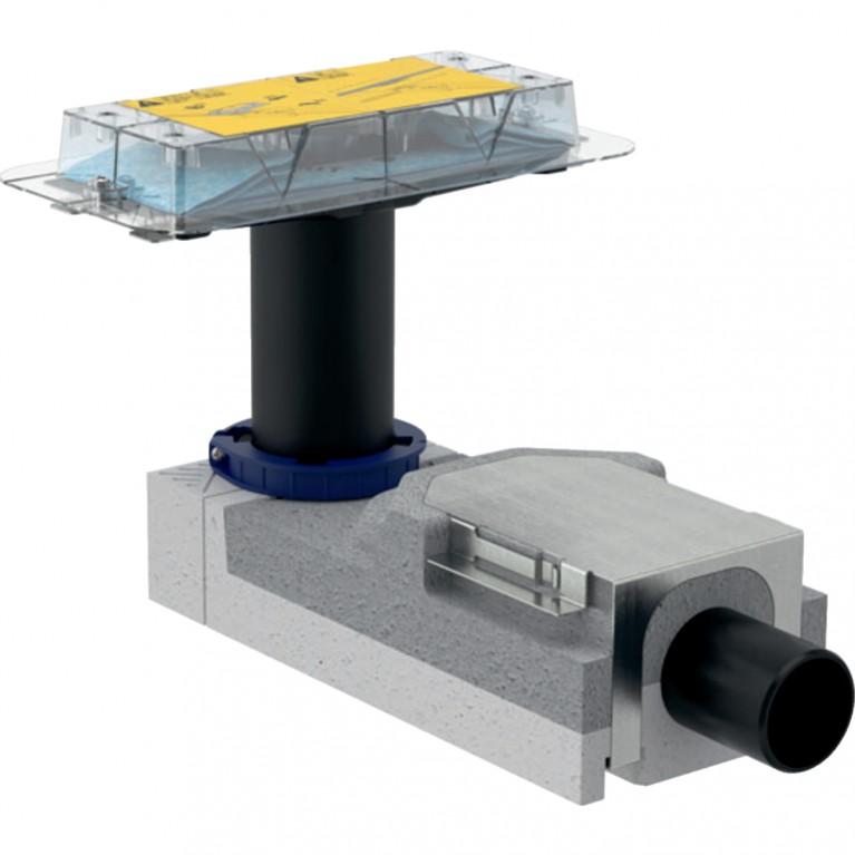 Монтажный комплект Geberit для дренажных каналов CleanLine, монтажная высота 90–220 мм, длина 30 см