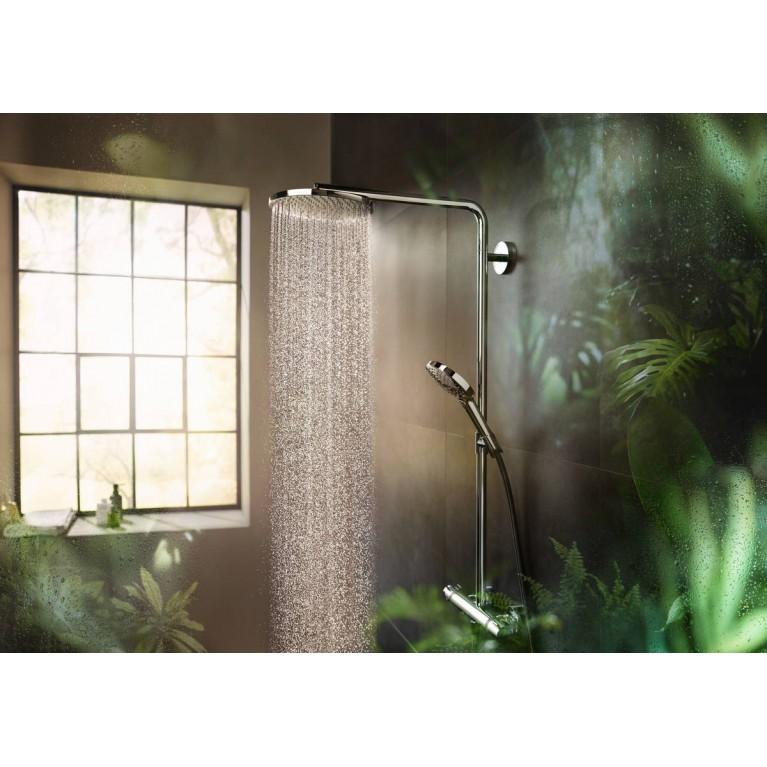 Raindance Select S Showerpipe 240 1jet PowderRain Душевая система с термостатом 27633000, фото 4