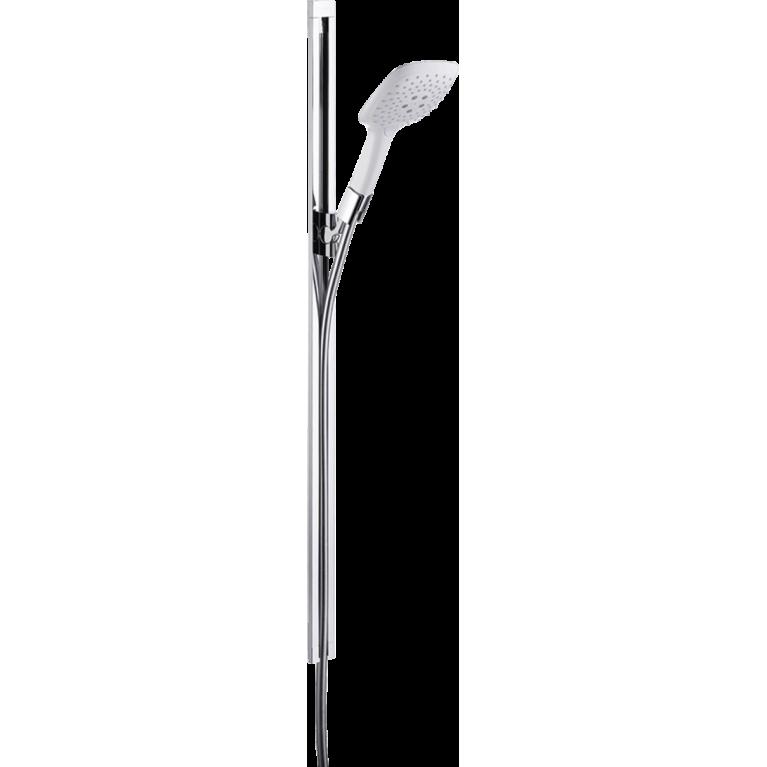 PuraVida Душевой набор, штанга 90 см (белый / хром), фото 1